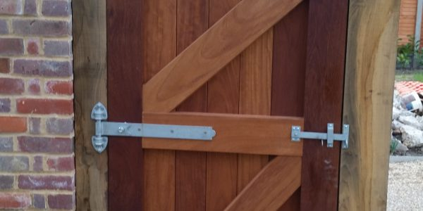 Side Gate, Monks Eleigh, Precision Made Joinery, Suffolk