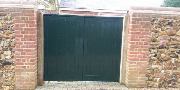 Entrance Gates, Monks Eleigh, Precision Made Joinery, Suffolk