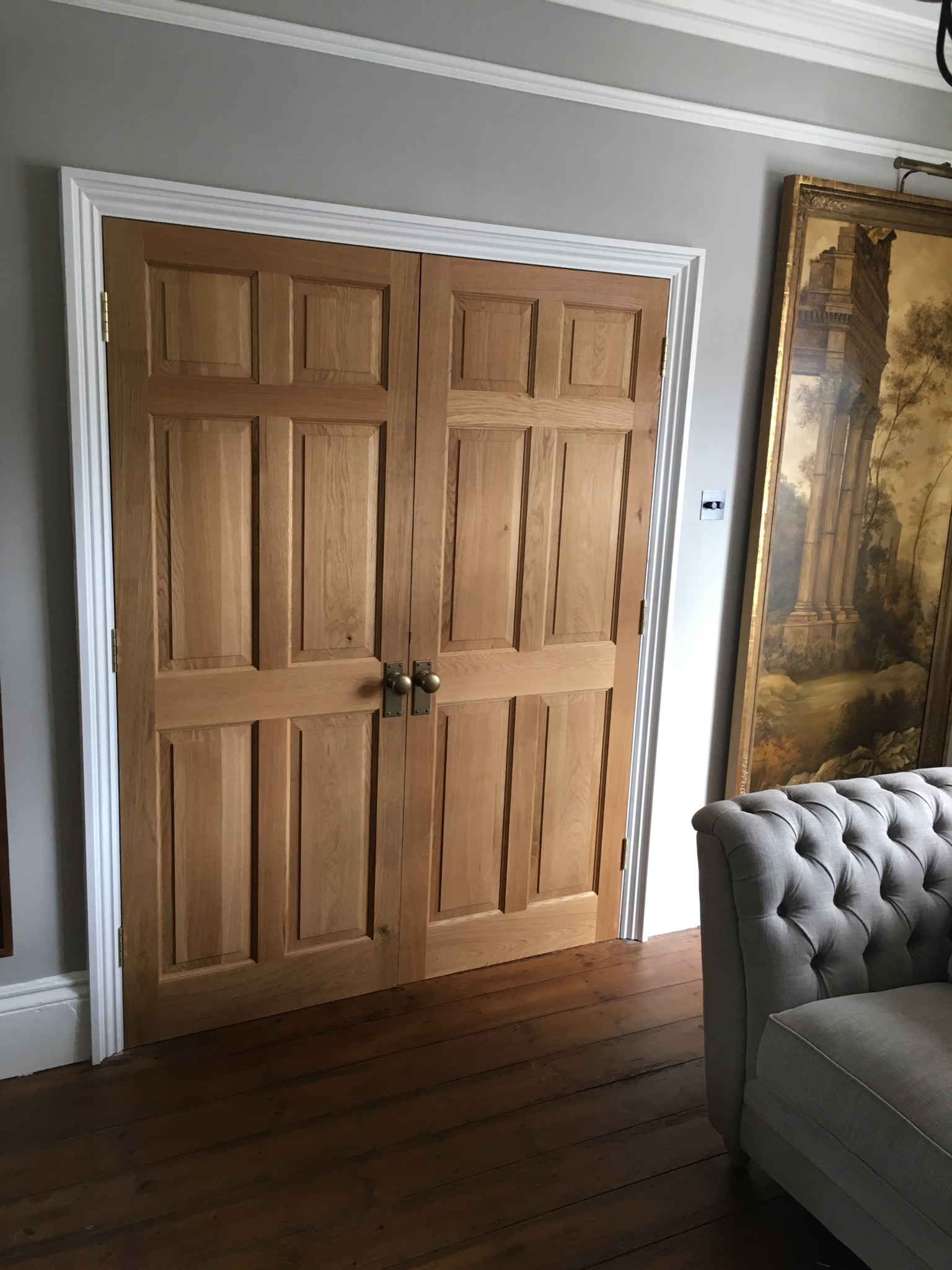 Coconut House, Internal Door, Precision Made Joinery, Acton, sudbury, Suffolk