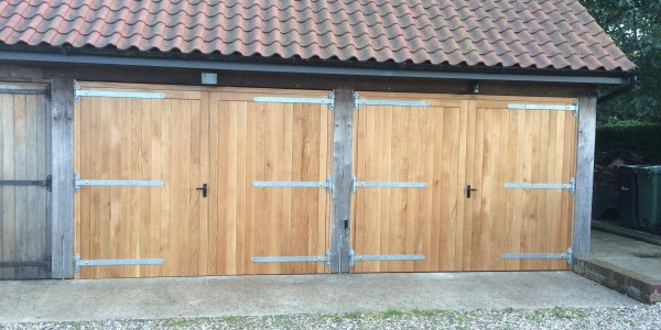 Oak Garage Doors (Liston)