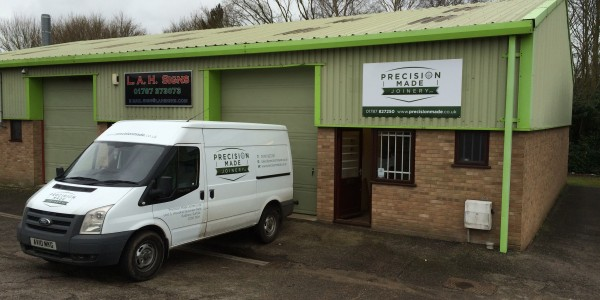 Precision Made Joinery based in Sudbury, Suffolk provide Bespoke handmade furniture, cabinets, windows and Doors