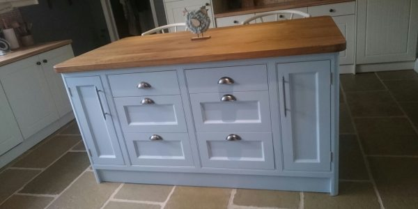 Kitchen Island Unit, Semer, Norfolk, Precision Made Joinery, Suffolk