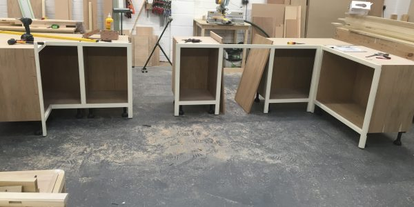 Kitchen in progress - Long Melford, Precision Made Joinery, Acton, Sudbury, Suffolk