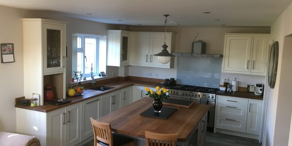 Bespoke kitchen supplied and fitted by Precision Made Joinery in Sudbury Suffolk