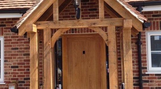 Porch, StansteadPrecision made Joinery, Acton, Sudbury, Suffolk