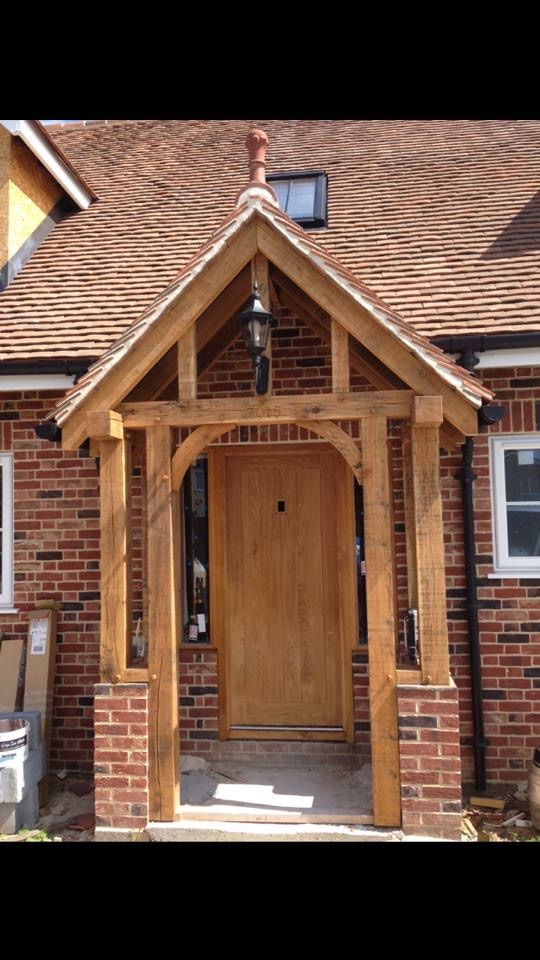 Porch, Stanstead, Precision Made Joinery, Acton, Sudbury, Suffolk