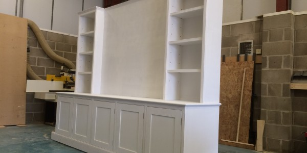 TV Storage Unit by Precision Made Joinery, Sudbury, Suffolk