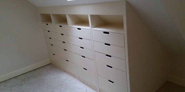Fitted Drawers by Precision Made Joinery, Sudbury, Suffolk