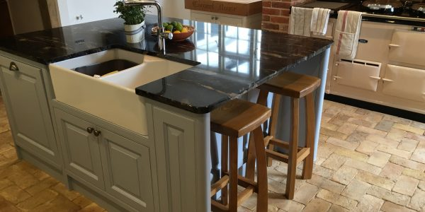 Kitchen Island, Kitchen, Precision Made Joinery, Acton, Sudbury, Suffolk