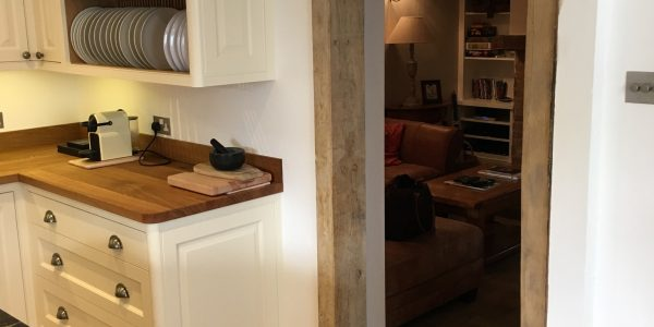 Kitchen and Oak Frame, Long Melford, Precision Made Joinery, Acton, Sudbury, Suffolk