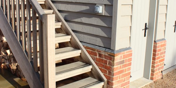 External Stairs in Denston, Newmarket, By Precision Made Joinery in Suffolk