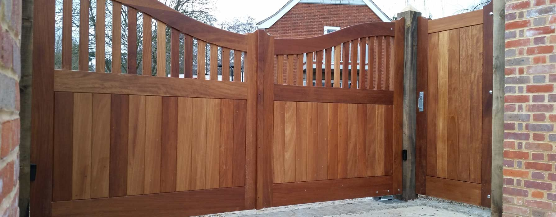 External Entrance Gates, Precision Made Joinery, Suffolk