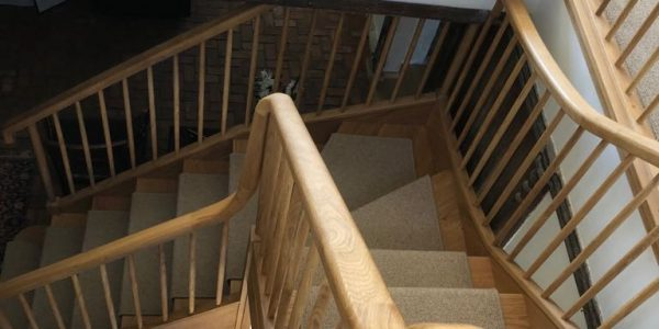Banister, Stairs, Staircase, Precision Made Joinery Suffolk