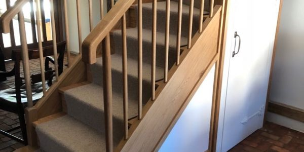 Staircase - Ashwell, Precision Made Joinery, Suffolk