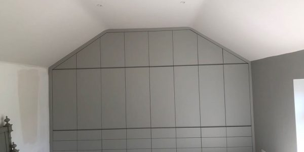 Fitted wardrobe & drawers, Push release Precision Made Joinery, Suffolk