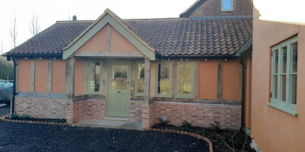 Front entrance, Doors and windows, Milden, Precision Made Joinery, Suffolk