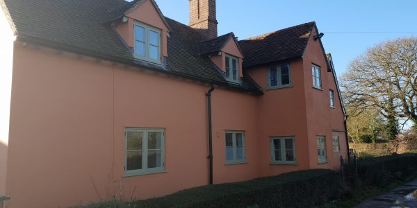 Side of the Property, Windows, Milden, Precision Made Joinery, Suffolk