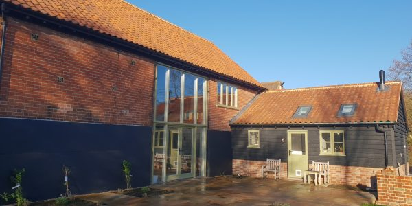 Back of the property, Windows and Doors, Milden, Precision Made Joinery, Suffolk